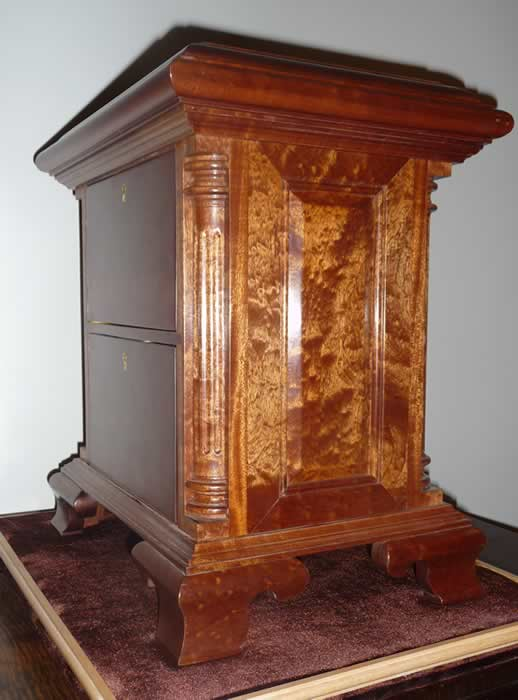 Humidor Furniture Hand crafted custom wood urns, burial, cremation urns, memorial ...